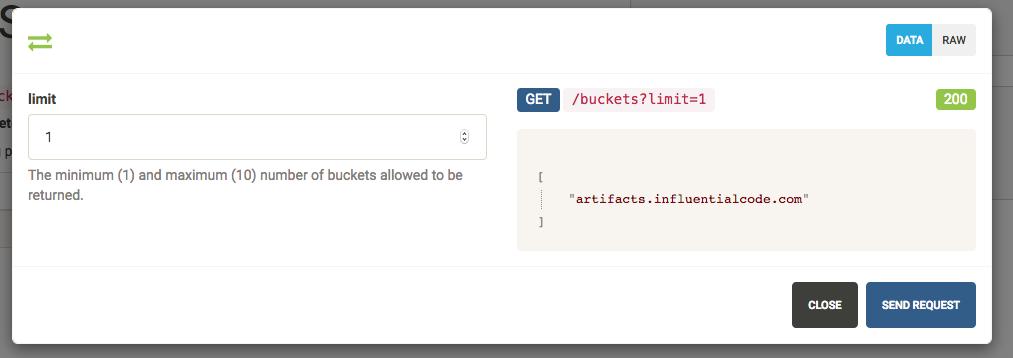 API Star response for valid query